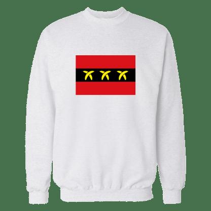 bananaamsterdam sweatshirt wit