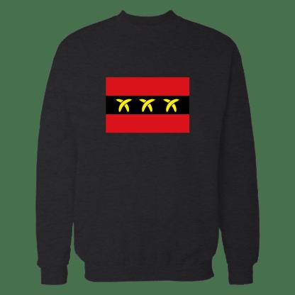 bananaamsterdam sweatshirt zwart