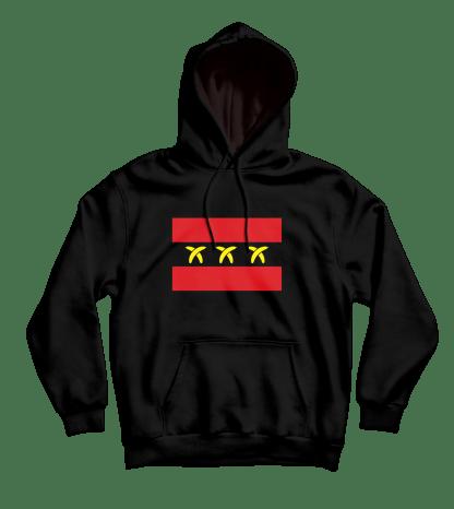 bananamsterdam hoodie black