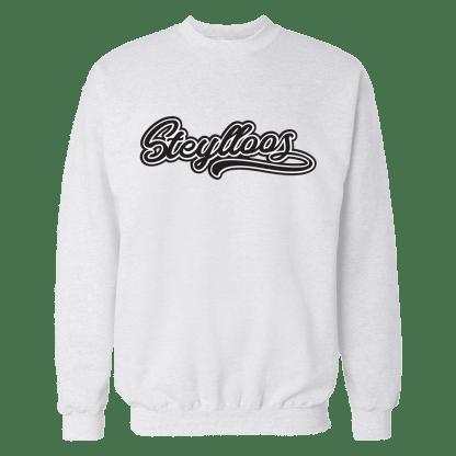 steylloos sweatshirt wit