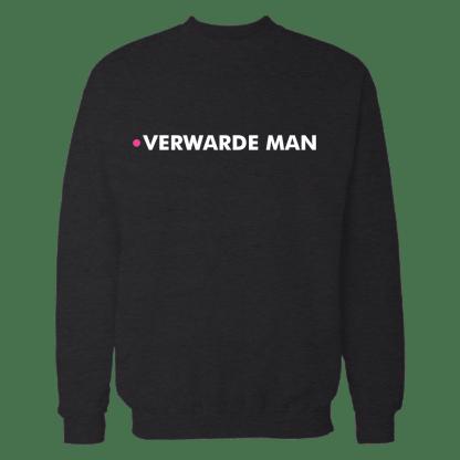 verwarde man hoodie black
