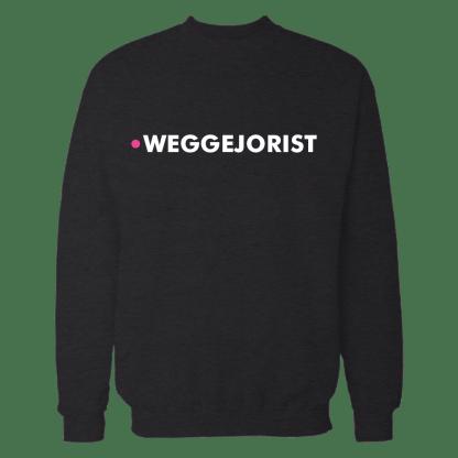 weggejorist sweatshirt zwart