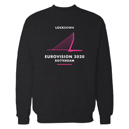eurovision sweatshirt black