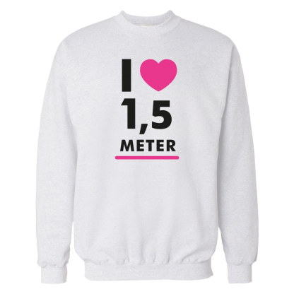i heart 15 meter sweater wit