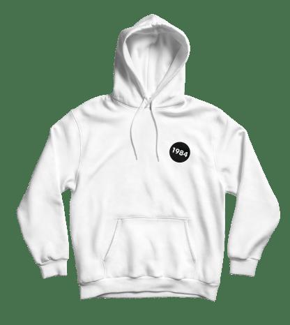1984 hoodie wit
