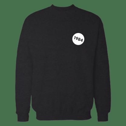 1984 sweatshirt zwart