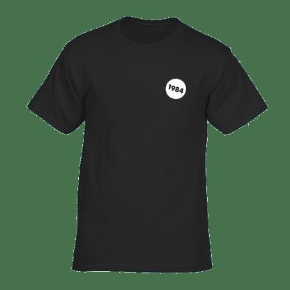 1984 tshirt zwart