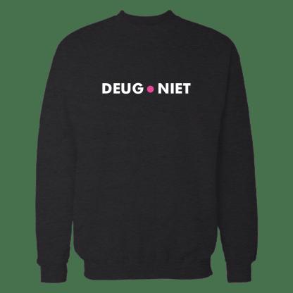 deugniet sweatshirt zwart