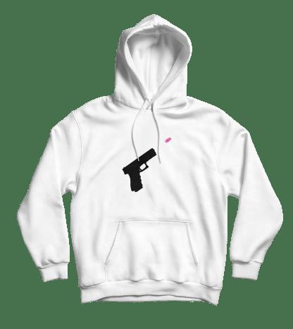 wordfare hoodie wit