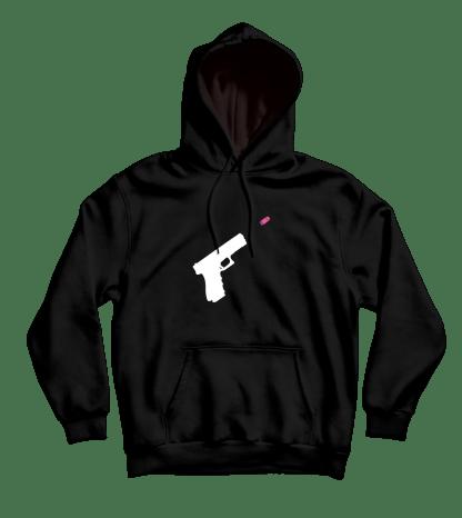 wordfare hoodie zwart