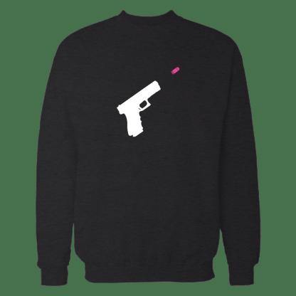 wordfare sweatshirt zwart