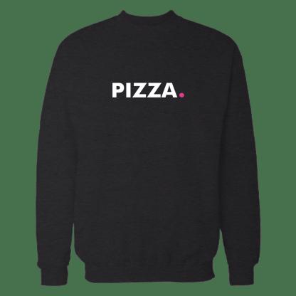 pizza sweatshirt zwart
