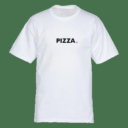 pizza t shirt wit