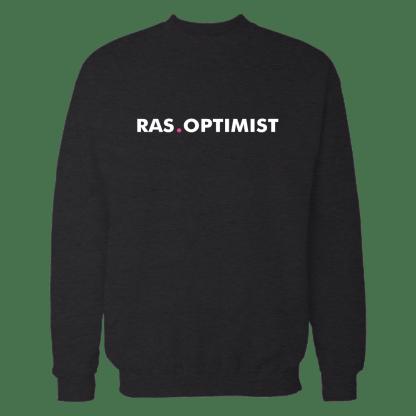 rasoptimist sweatshirt black