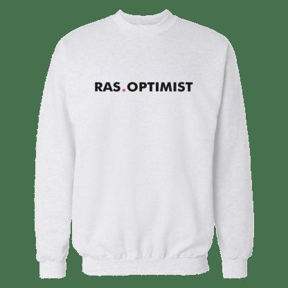 rasoptimist sweatshirt white