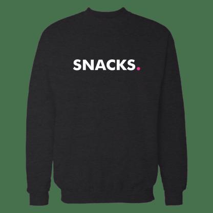snacks sweatshirt zwart