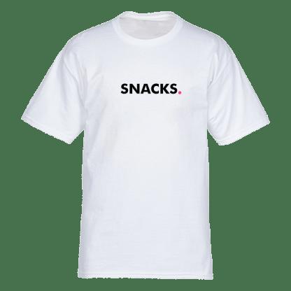 snacks t shirt wit