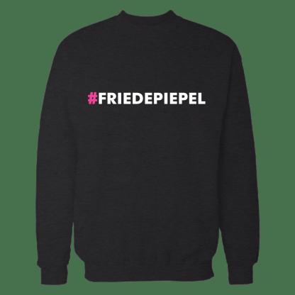 friedepiepel sweatshirt zwart