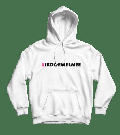 ikdoewelmee hoodie wit