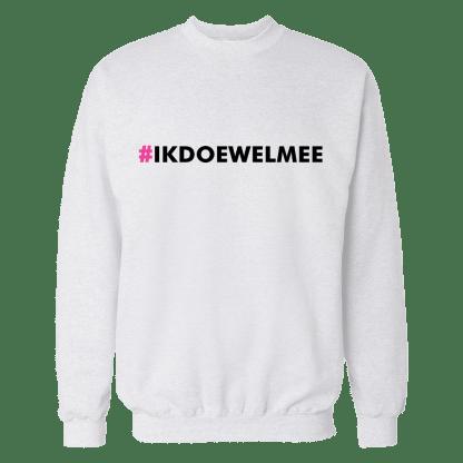 ikdoewelmee sweatshirt wit