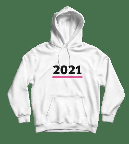 2021 hoodie wit
