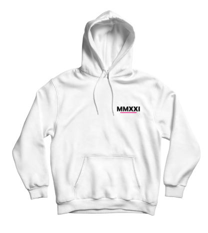 mmxxi subtle hoodie wit