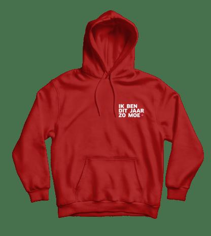 zo moe hoodie rood