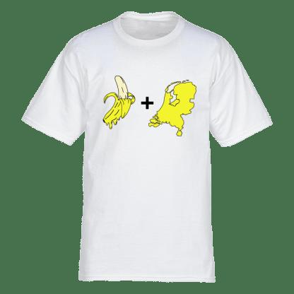 bananas tshirt wit
