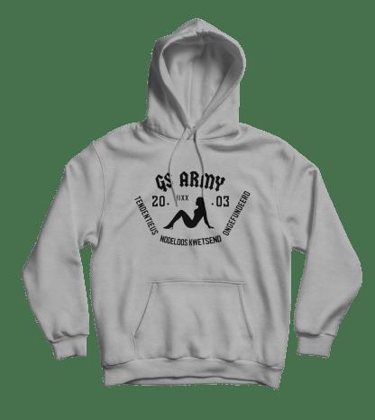gs army hoodie grijs