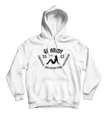 gs army hoodie wit