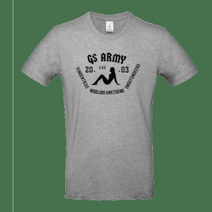 gs army tshirt grijs