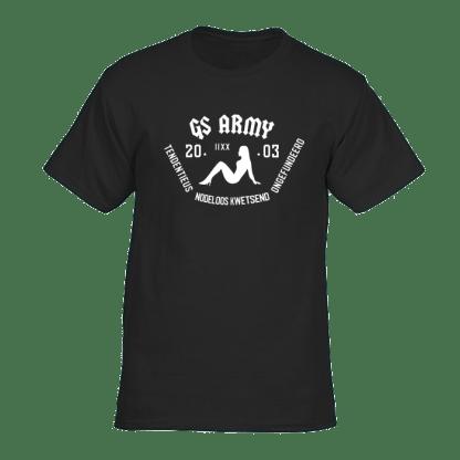gs army tshirt zwart